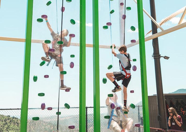 Cliff Hanger Climbing Wall